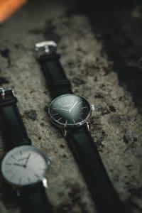 Bracelet montre cuire