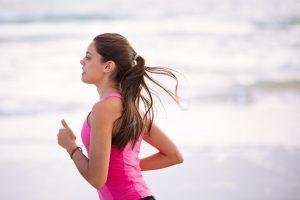 montre running pour femme
